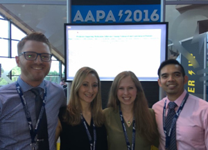 Le Moyne College Students present at AAPA 2016