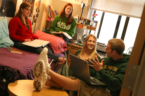 Students in Dorm