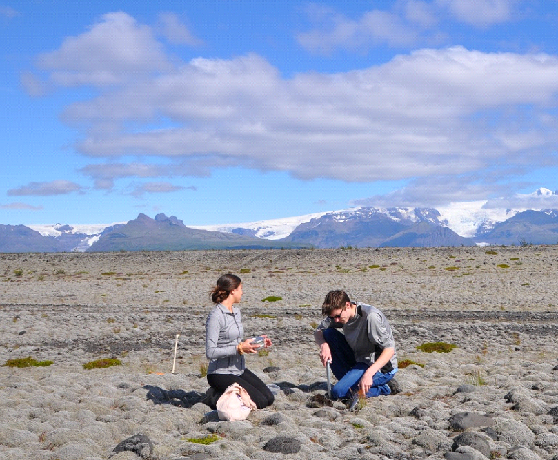 Student Researchers in Iceland