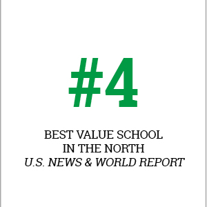 Le Moyne is named in the top 15% by the Princeton Review