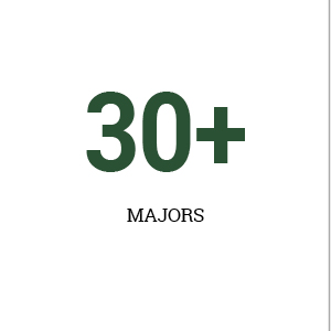 Le Moyne College offers 30+ majors