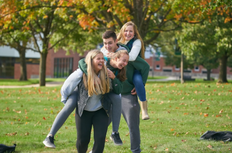 Students in the Fall