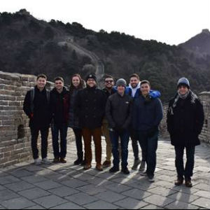 Le Moyne Students in Beijing, China